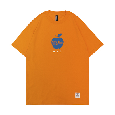 OCEAN11 Big Apple Tee (orange)