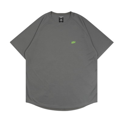 blhlc COOL Tee (charcoal gray/lime green)