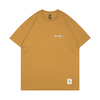 Triangle Pattern Tee / SS8 (camel)