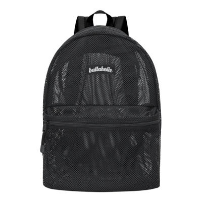 Ball On Journey Mesh Backpack (black)