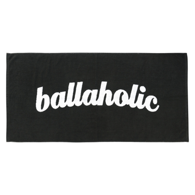 Logo Bath Towel (black)