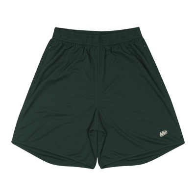 Basic Zip Shorts (dark green/beige)