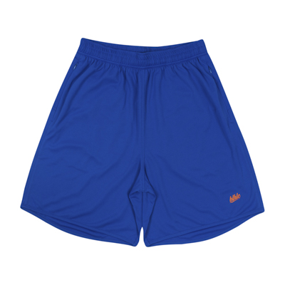 Basic Zip Shorts (blue/orange)
