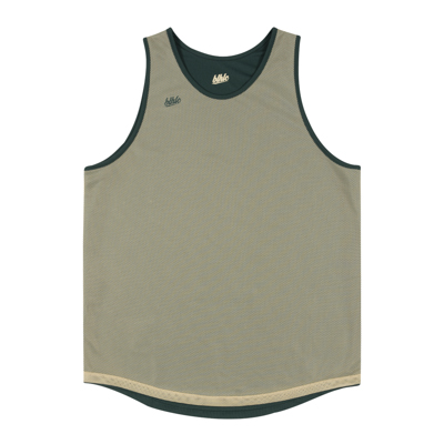 Basic Reversible Tops (dark green/beige)