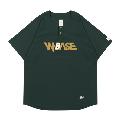 W-BASE x ballaholic BALL Shirts  (dark green)