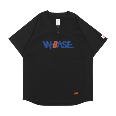 W-BASE x ballaholic BALL Shirts  (black)