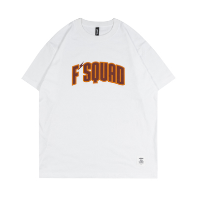 F'SQUAD Tee (white/brown)