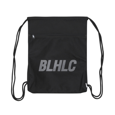 BLHLC Mesh Pocket Gymsack (black)