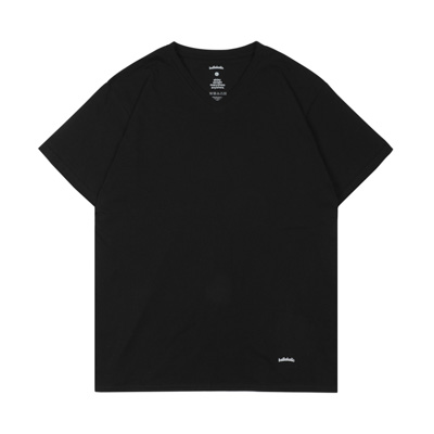 ballaholic 2 Pieces V-neck Tee (black)