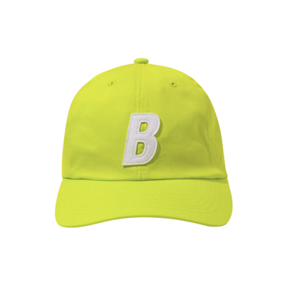B 6P Cap (lime green/white)