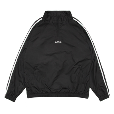 LOGO ANYWHERE Half Zip Pullover Jacket (black)