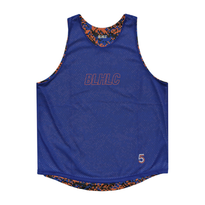 Digital Camo Reversible Tops (orange/blue)