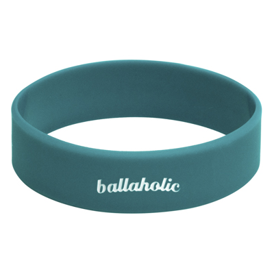 LOGO Wide Rubberband (teal blue)