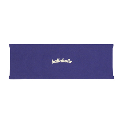 Reversible Headband (purple/cream)