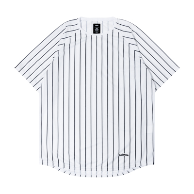 STRIPE COOL Tee (white/black)