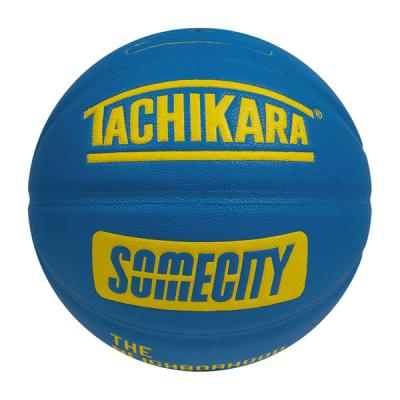 SOMECITY Official Game Ball (blue/yellow)