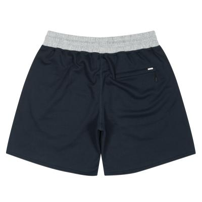Ball Embroidered Sweat Zip Shorts (navy)