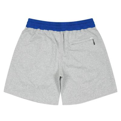 Ball Embroidered Sweat Zip Shorts (gray)