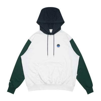 Ball Embroidered Sweat Hoodie (white)