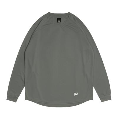 blhlc Cool Long Tee (charcoal gray/white)
