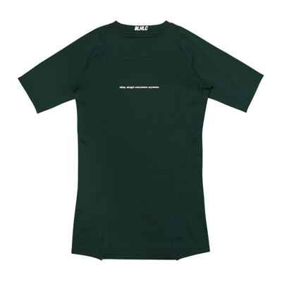 Compression Short Sleeve Tops (dark green)