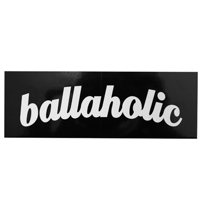 ballaholic BOX STICKER