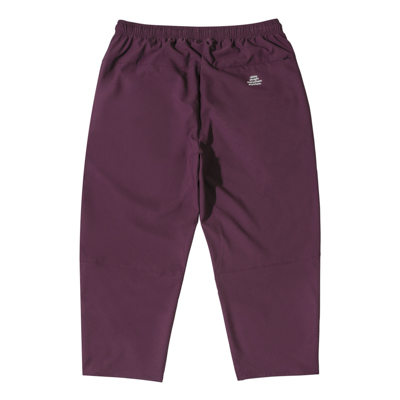 Stretch Ankle Cut Pants (crimson)