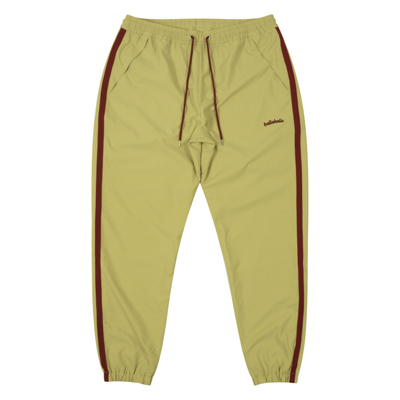LOGO Tape Stretch Long Pants (beige)
