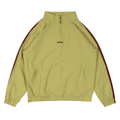 LOGO Tape Stretch Pullover Jacket (beige)