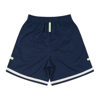 LOGO Tape Zip Shorts (navy)