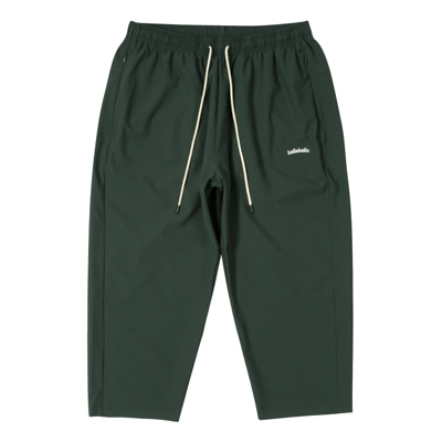 Stretch Ankle Cut Pants (dark green)