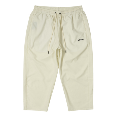 Stretch Ankle Cut Pants (ivory)