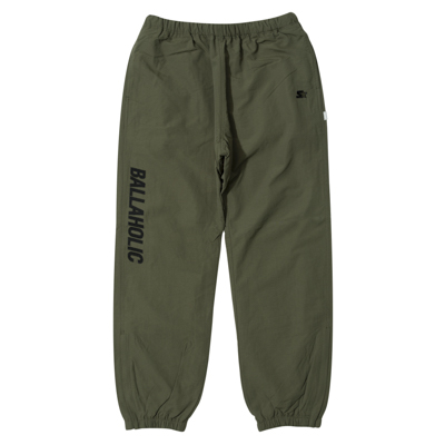 STARTER x ballaholic Warm Up Pants (olive)