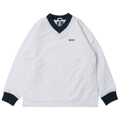 STARTER x ballaholic Warm Up Pullover (white)