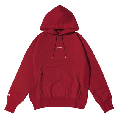Small LOGO Hoodie (wine red)