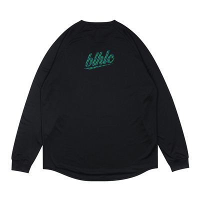 blhlc Back Print Cool Long Tee (black/navy/green)