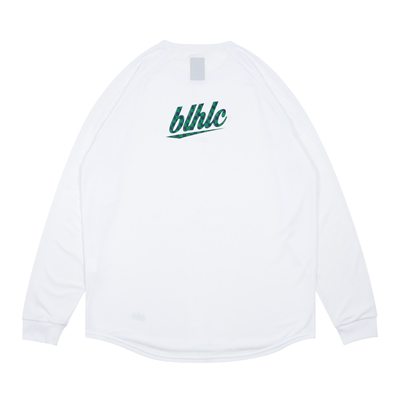 blhlc Back Print Cool Long Tee (white/navy/green)