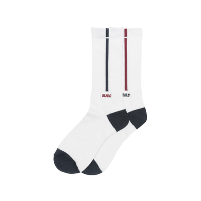 BLHLC Line Socks (white/navy/crimson)