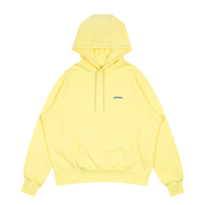 Small Logo Sweat Hoodie (tender yellow)