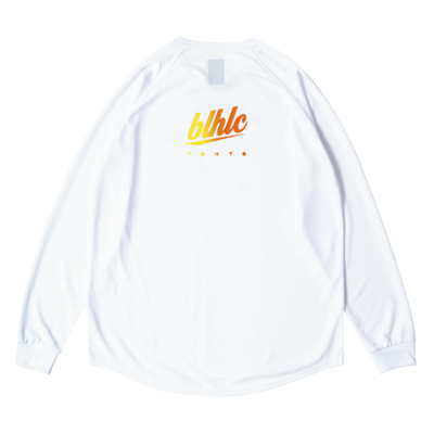 blhlc TOKYO COOL LongTee (white/yellow gradation)