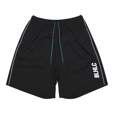 BLHLC Reflector Line Zip Shorts (black)