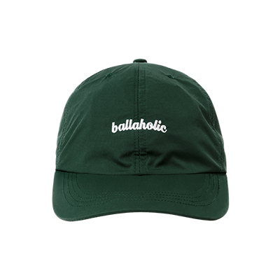 LOGO Nylon 6P Cap (dark green)