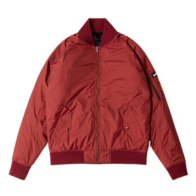 Reversible MA-1 Jacket (burgundy/navy)