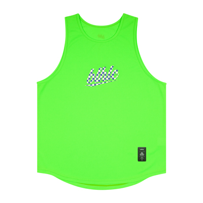blhlc Tank Top (lime green/blue/off white)
