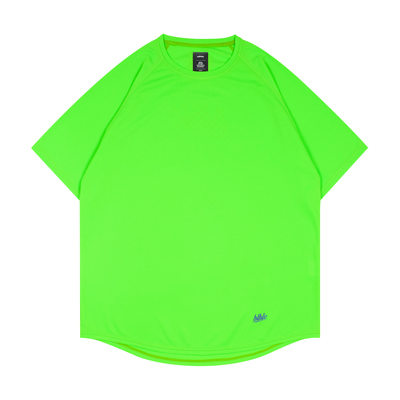 blhlc Back Print Cool Tee (lime green)