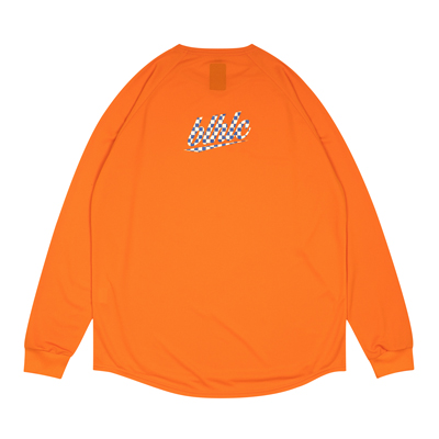blhlc Back Print Cool Long Tee (orange)