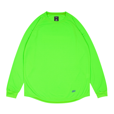 blhlc Back Print Cool Long Tee (lime green)