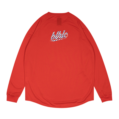 blhlc Back Print Cool Long Tee (red)