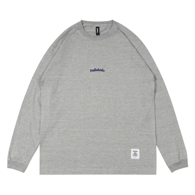 Small LOGO LongTee (gray/navy)