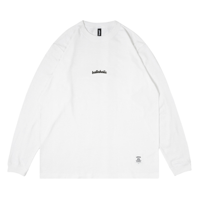 Small LOGO LongTee (white/black)